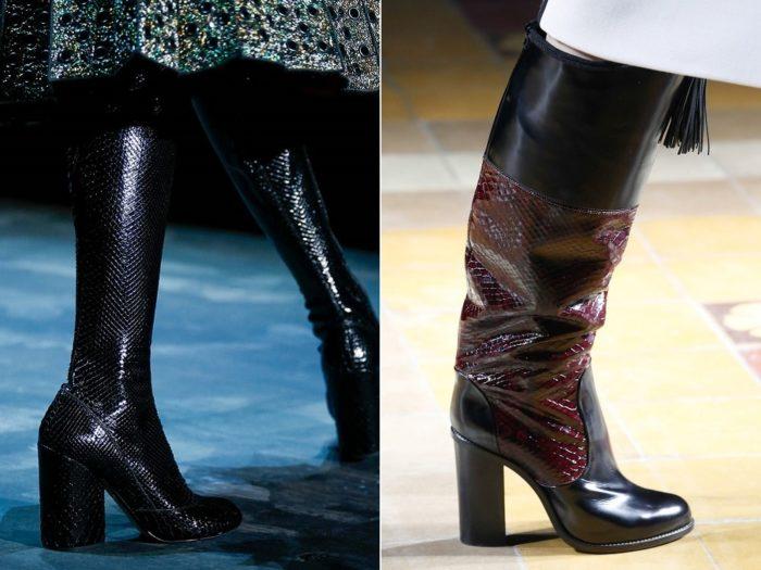 Какие сапоги будут в моде весной 2016? фото