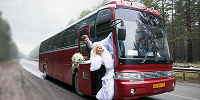 Как арендовать автобус на свадьбу в Екатеринбурге? фото