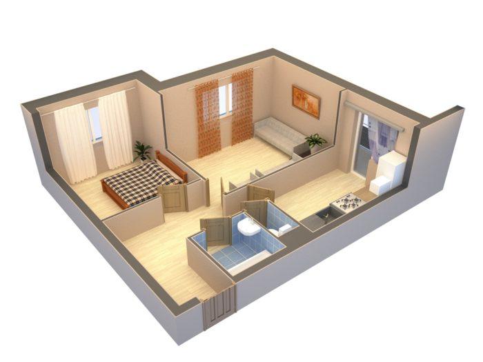 Как сделать удобную перепланировку квартиры, и не стать нарушителем закона? - фото