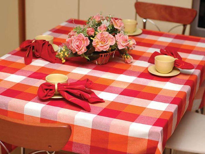 Как выбрать скатерть на кухонный стол? фото