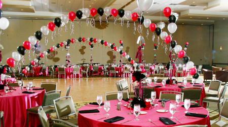 Как оформить зал для выпускного вечера? фото