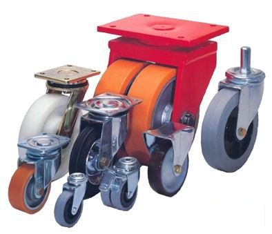 Как выбрать колеса для складских тележек? фото