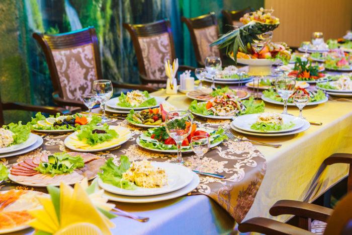 Как правильно организовать банкет в ресторане? фото