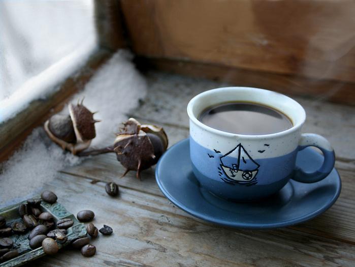 Зимний кофе или чай? - фото