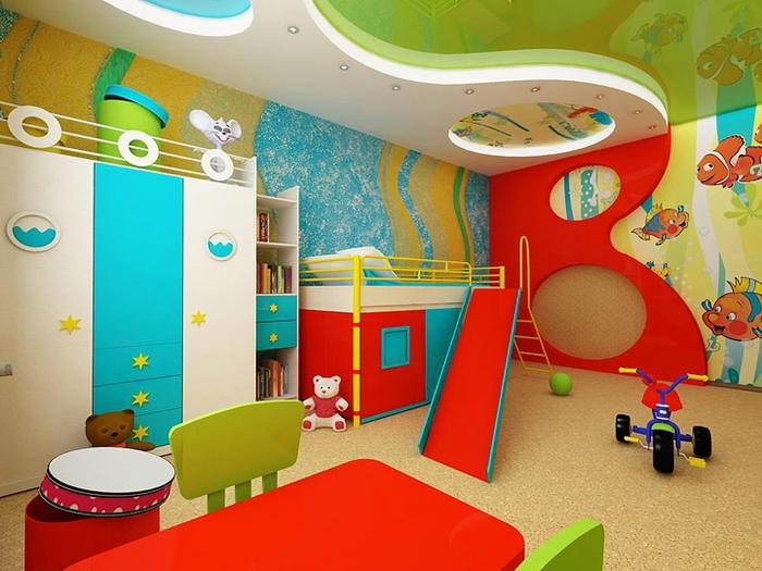 Как обустроить уголок для игр в детской? фото