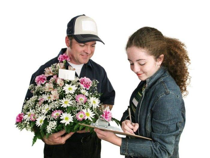 Как выбрать букет цветов в интернете? фото