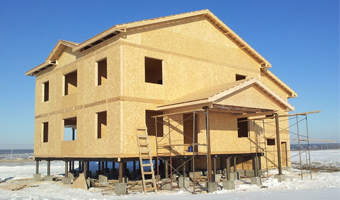 Строительство «по канадски»: плюсы и минусы каркасного дома фото