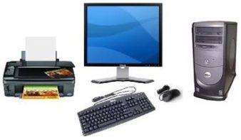Set-desktop-monitor-printer