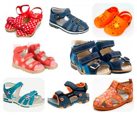 Как правильно выбрать летнюю детскую обувь? фото