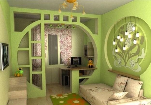 Как разделить комнату аркой? фото