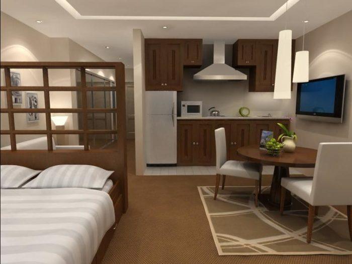 Как разделить комнату в общежитии на зоны? фото