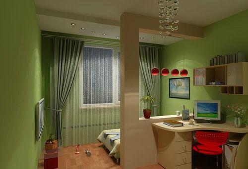 Как разделить комнату в коммуналке на зоны? фото