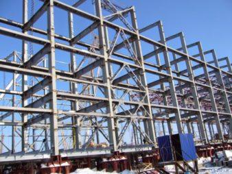 Применение сварных строительных конструкций