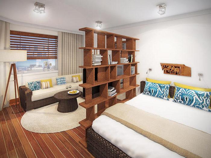 Как разделить комнату 15 кв.м? фото