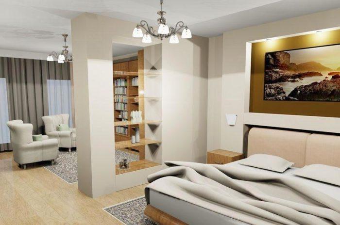 Как разделить комнату гипсокартоном? фото