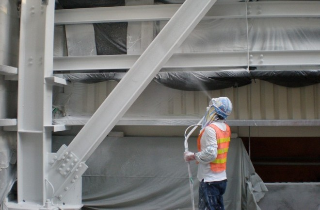Как защитить металлические конструкции от огня? фото