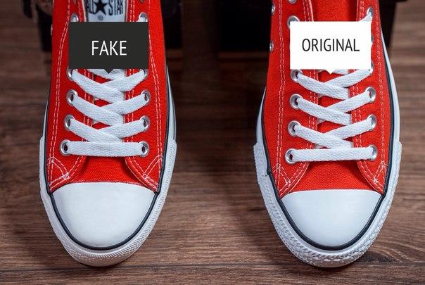 Как отличить подделку Converse? фото