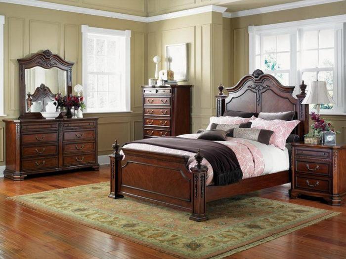 Как сделать спальню в классическом стиле? фото