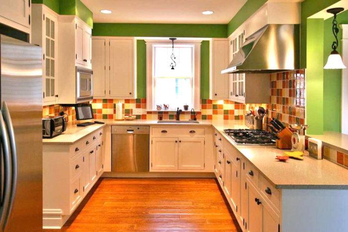 Как сделать ремонт на кухне дешево и красиво? фото