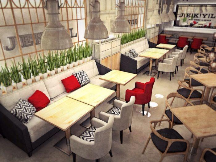 Какой должна быть мебель для ресторана и кафе? фото