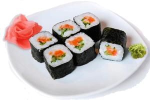 Как приготовить суши с лососем дома? фото