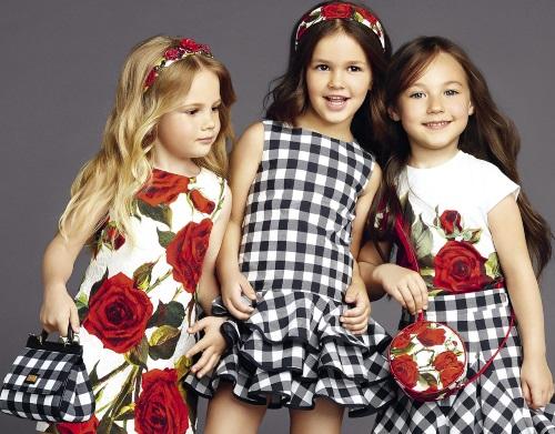 Какие детские платья моде в 2016 году? фото