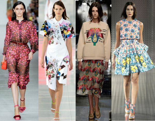 Какие платья в моде весна лето 2016 года? фото