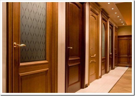 Массив, шпон, ламинат – какие межкомнатные двери лучше? фото