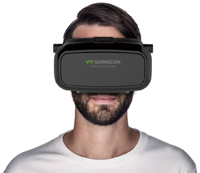 Чем хороши очки виртуальной реальности VR SHINECON? фото