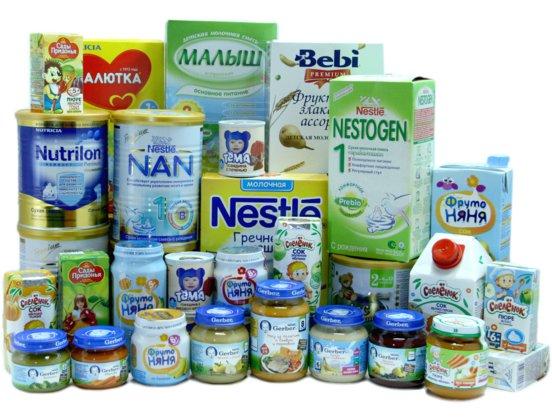 Детское питание: на что стоит обратить внимание? фото