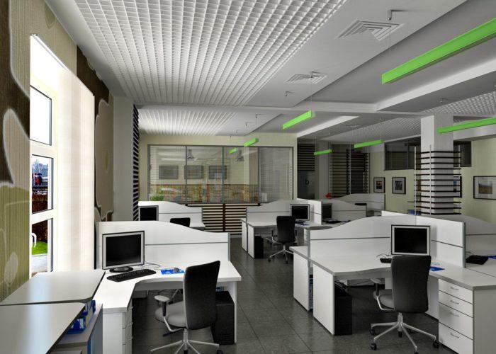 Как сделать дизайн интерьера офиса в современном стиле? фото
