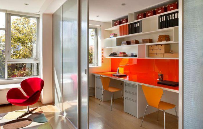 Как разделить комнату раздвижными дверями? фото