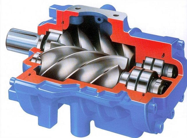 В чем преимущества роторных компрессоров? фото