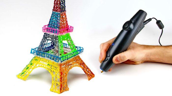 Как нарисовать 3д ручкой подарок 54
