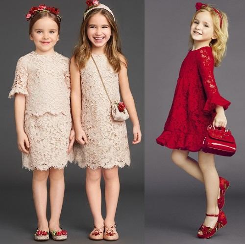 Фото модных платьев для девочек