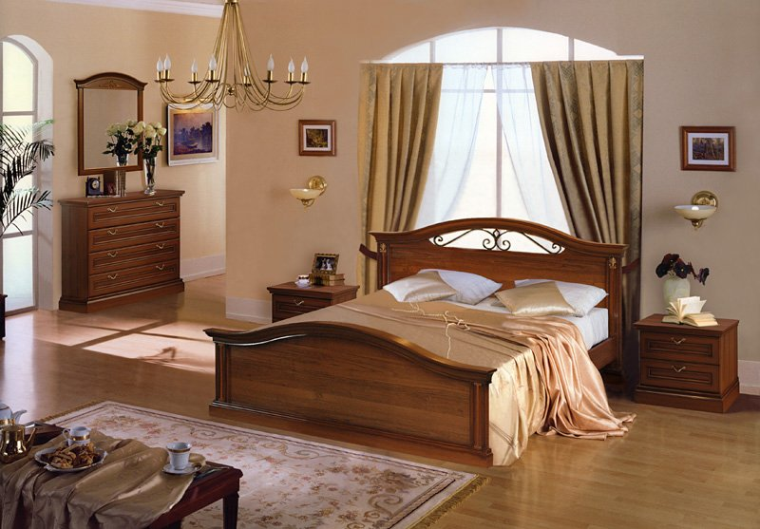 Как сделать спальню в итальянском стиле? фото