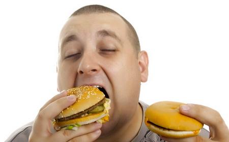 Почему муж много ест? фото
