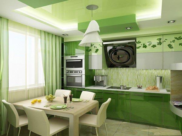Как сделать косметический ремонт на кухне? фото