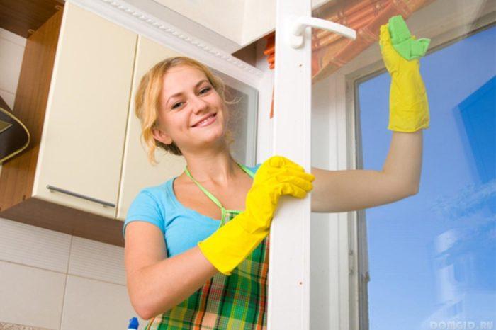 Как правильно мыть окна, чтобы не было разводов? фото