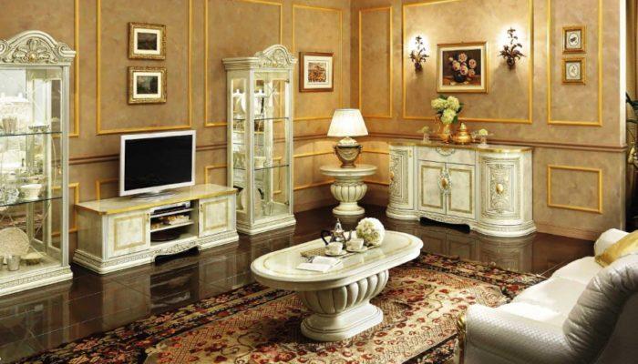 Как сделать гостиную в классическом стиле? фото