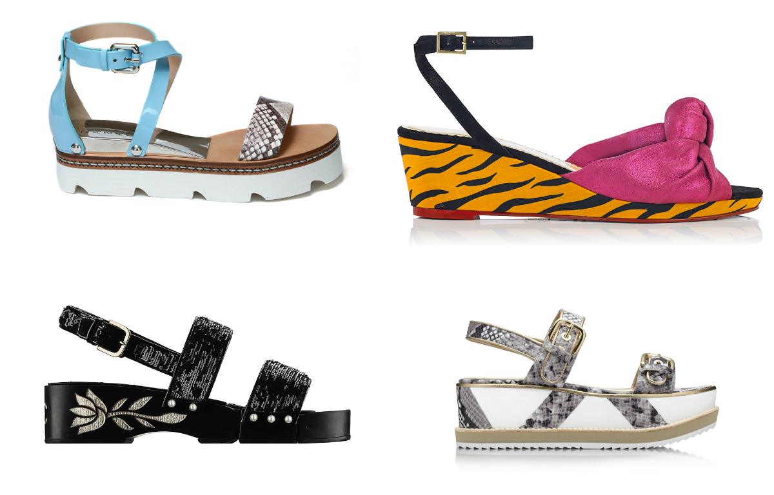 Какие женские сандалии в моде весна-лето 2016? - фото