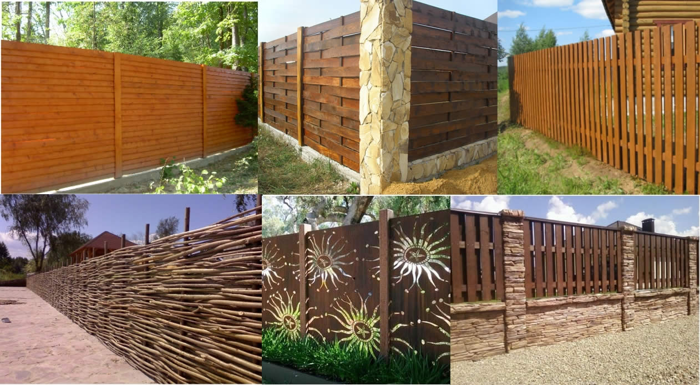 Какой забор выбрать для частного дома? фото