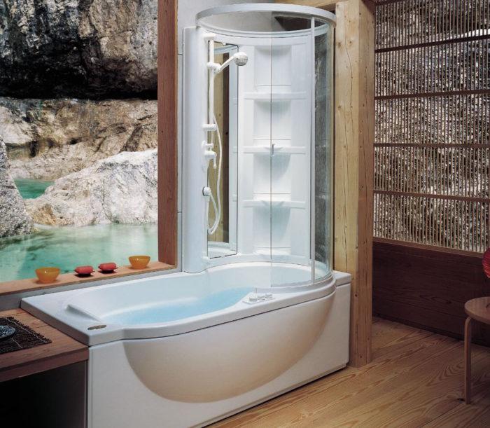 Ванна или душевая кабина: что лучше? фото