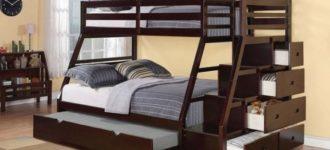 Двухъярусная кровать: металлическая или деревянная? фото