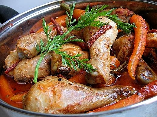 Как приготовить курицу на сковороде? фото