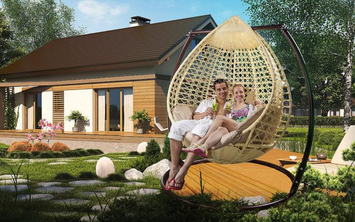 Как обустроить зону отдыха на даче? фото