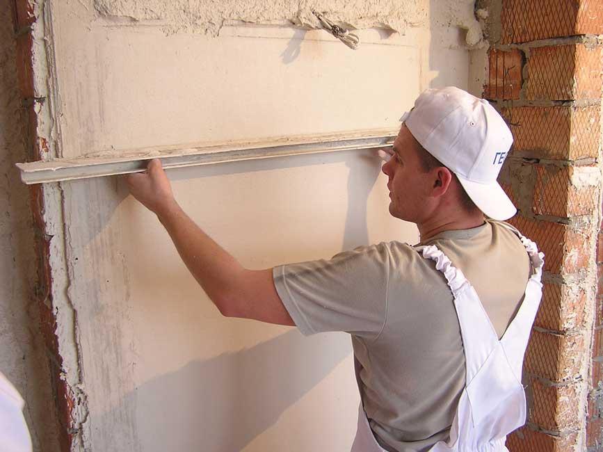 Как штукатурить стены своими руками? фото