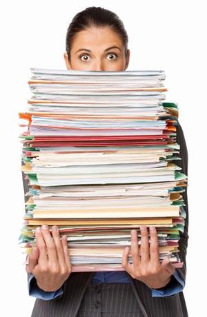 Как отдать документы компании на хранение? фото