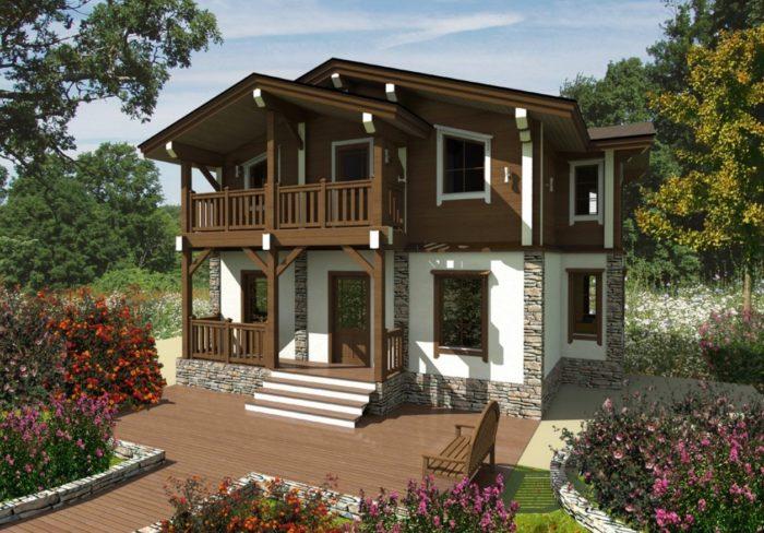 Архитектурный стиль загородного дома: что выбрать? фото