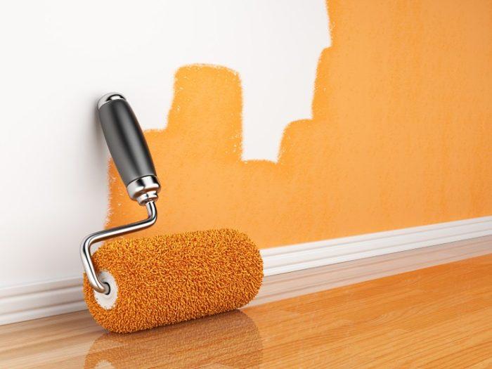 Как правильно красить стены водоэмульсионной краской? фото